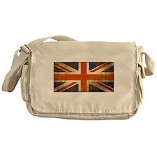 Grungy Union Jack Messenger Bag