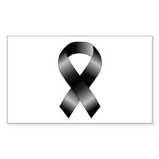 Black Ribbon Decal