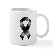 Black Ribbon Mug