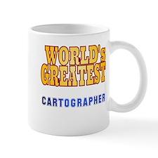 World's Greatest Cartographer Small Mug