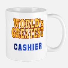 World's Greatest Cashier Mug