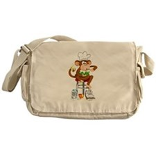 Monkey Chef Messenger Bag