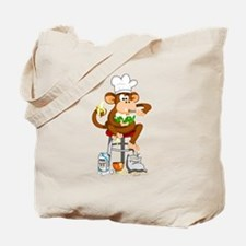 Monkey Chef Tote Bag