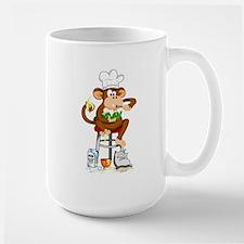 Monkey Chef Large Mug