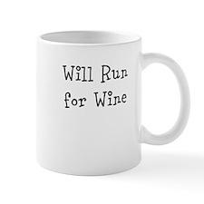 Will Run for Wine TM Regular Mug
