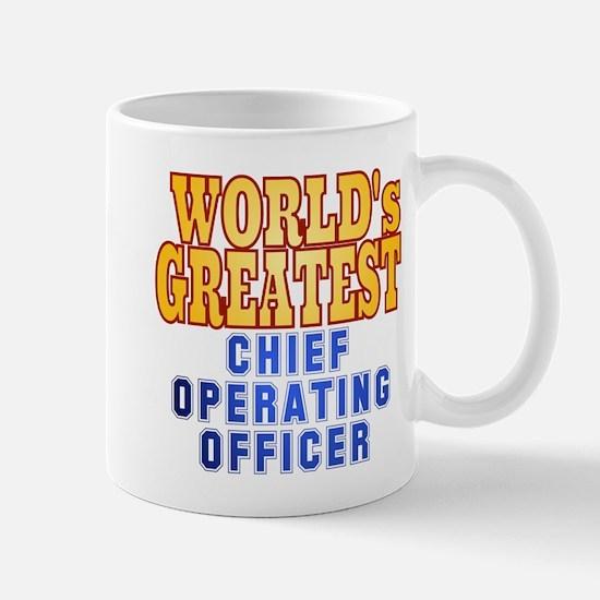 World's Greatest Chief Operating Officer Mug