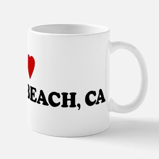 I Love LA SELVA BEACH Mug