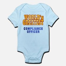 World's Greatest Compliance Officer Infant Bodysui