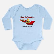 Keep on Tuggin' Long Sleeve Infant Bodysuit