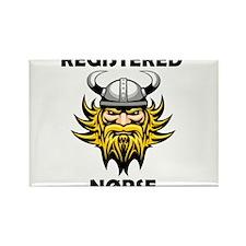 Registered Norse Rectangle Magnet