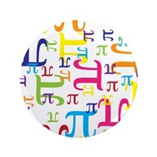 """Pieces of Pi 3.5"""" Button (100 pack)"""