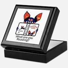 Reading Dog Keepsake Box