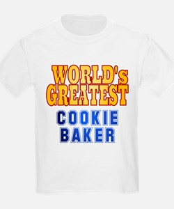 World's Greatest Cookie Baker T-Shirt