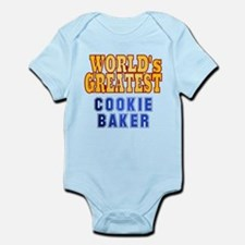 World's Greatest Cookie Baker Infant Bodysuit
