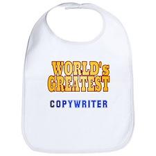 World's Greatest Copywriter Bib