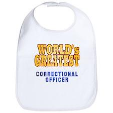 World's Greatest Correctional Officer Bib