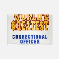 World's Greatest Correctional Officer Rectangle Ma
