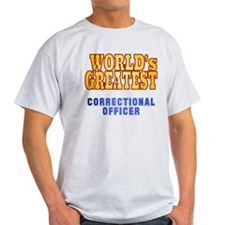 World's Greatest Correctional Officer T-Shirt