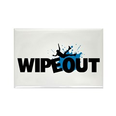 Wipeout Rectangle Magnet