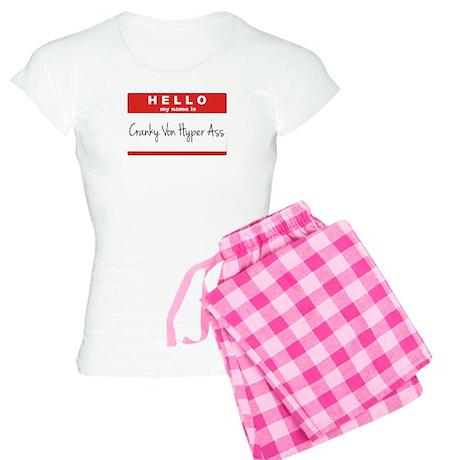 Cranky Von Hyper Ass Women's Light Pajamas
