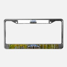 Utah Big Game License Plate Frame