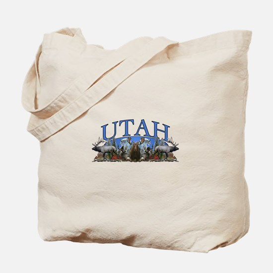Utah Big Game Tote Bag