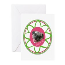 #TrixieThePug Greeting Cards (Pk of 10)