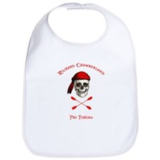 Pirate fishing red Bib