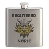 Minnesota viking Flask Bottles