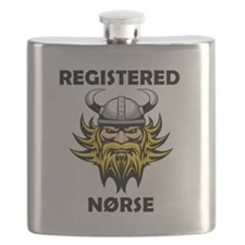 Cute Norway football Flask