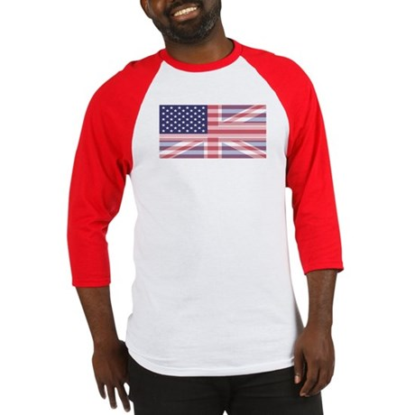Stars and Stripes Union Baseball Jersey