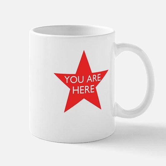 You are Here Mug