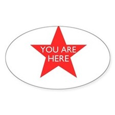 You are Here Decal
