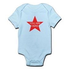 You are Here Infant Bodysuit