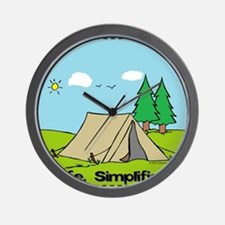 Life Simplified Outdoors Wall Clock