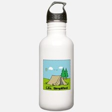 Life Simplified Outdoors Sports Water Bottle