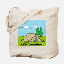 Life Simplified Outdoors Tote Bag