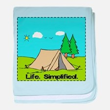 Life Simplified Outdoors baby blanket