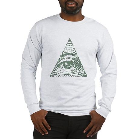 Masonic eye Long Sleeve T-Shirt