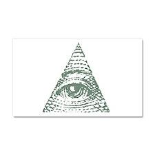 Masonic eye Car Magnet 20 x 12