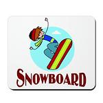 Snowboard Mousepad