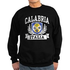 Calabria Italia Coat of Arms Sweatshirt