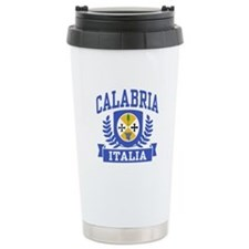 Calabria Italia Coat of Arms Travel Mug