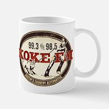 KOKE FM LOGO Mugs