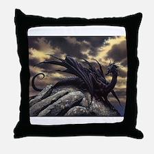 alex-dragon Throw Pillow