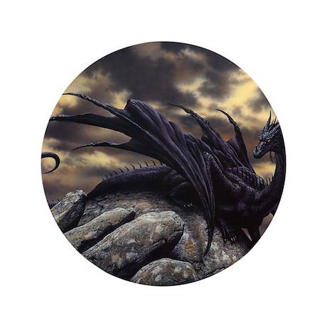 """alex-dragon 3.5"""" Button"""