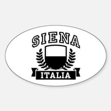 Siena Italia Sticker (Oval)