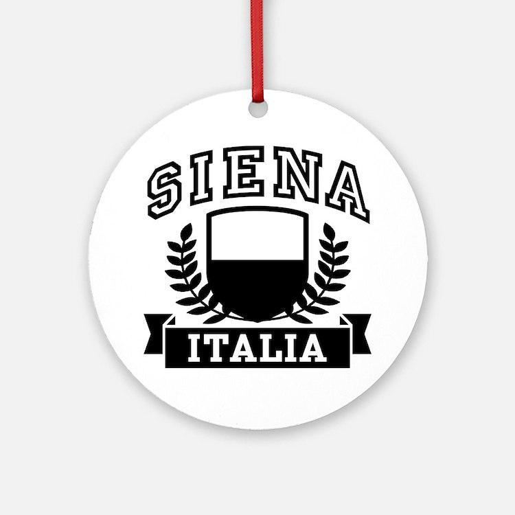 Siena Italia Ornament (Round)