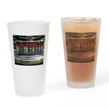 LicencePlate Drinking Glass