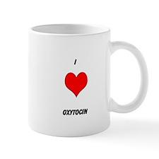 I HEART OXYTOCIN Mugs